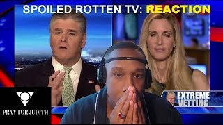Ann Coulter speaks out against accepting refugees - Reaction - Trigger Warning !