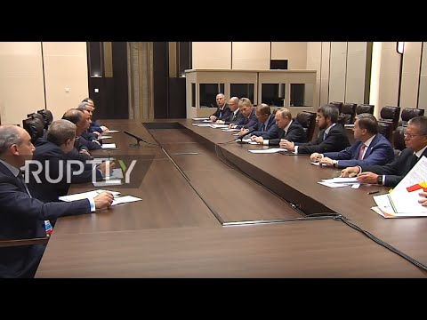 China: Putin and Egypt's el-Sisi tout strong bilateral ties
