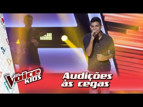 Victor Hugo Dias canta 'Madrid' na Audição – 'The Voice Kids Brasil' | 3ª Temporada