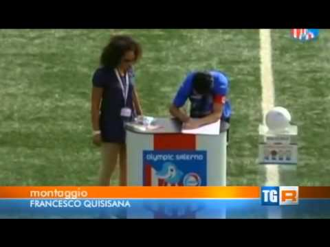 OLYMPIC SALERNO FAIR PLAY RAI 3 CAMPANIA