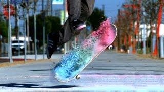 Insane Slow Motion Skateboarding