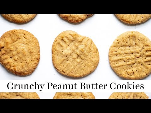 Crunchy Peanut Butter Cookies | Summer BBQ Series