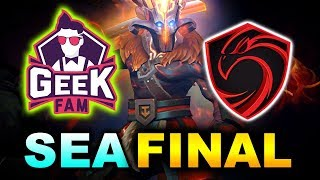 GeekFam vs Cignal Ultra - SEA GRAND FINAL - The Summit 11 Minor DOTA 2