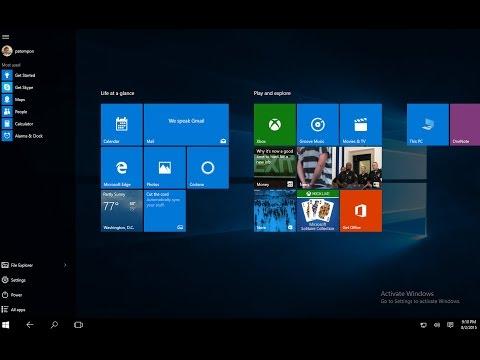 วิธีการ Activate License Key Windows 10