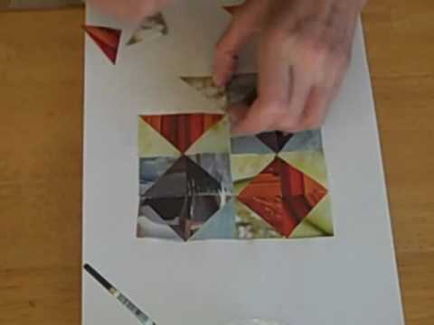 Make A Paper Quilt Youtube