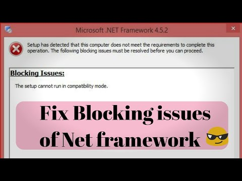 How To Fix NET Framework Blocking Issues-2019(Sk Alfaz)-#NETFrameworkblockingissuesfixed-||