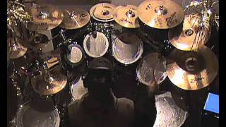 Mike Portnoy - Transatlantic - The Whirlwind Overture Drum Cover.wmv