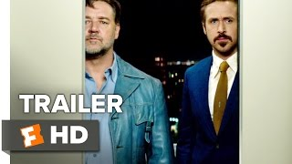 The Nice Guys Official Trailer #1 (2016) - Ryan Gosling, Russell Crowe Movie HD