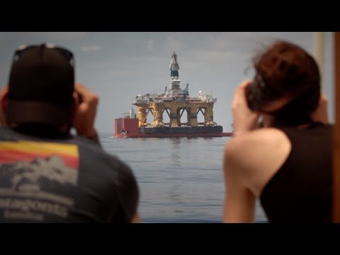 BREAKING: Shell's Arctic oil rig in sight
