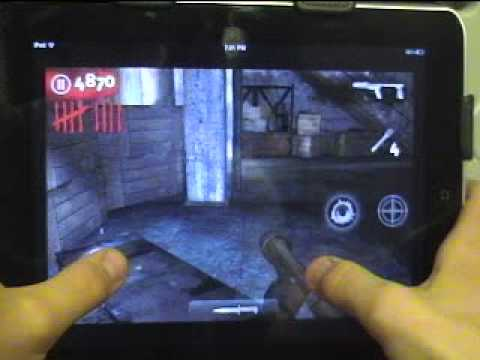 Call of Duty: Nazi Zombies for iPod touch behind mystery box glitch!!!