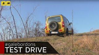 Suzuki Jimny Shinsei | Test drive off-road cercando di ribaltarla