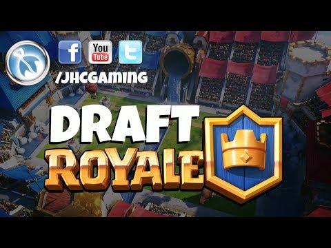 Practice draft, single elimination + tournament - Clash Royale