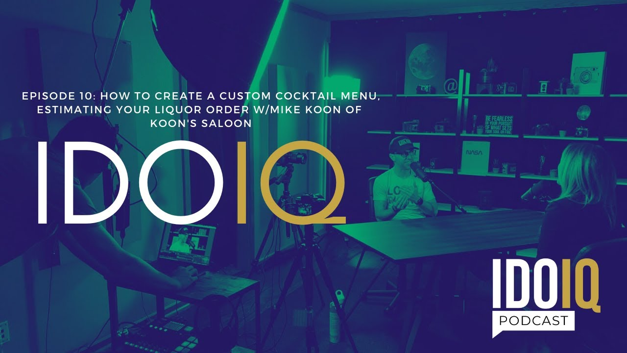 How to Create a Custom Cocktail Menu, Estimating Your Liquor Order w/Mike Koon of Koon's Saloon