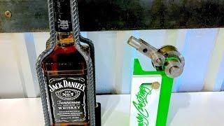 Jack Daniels Whiskey Stand - DIY Metal Bender - Cool Rebar Art Project