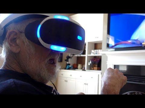 ANGRY GRANDPA VS PLAYSTATION VR!!