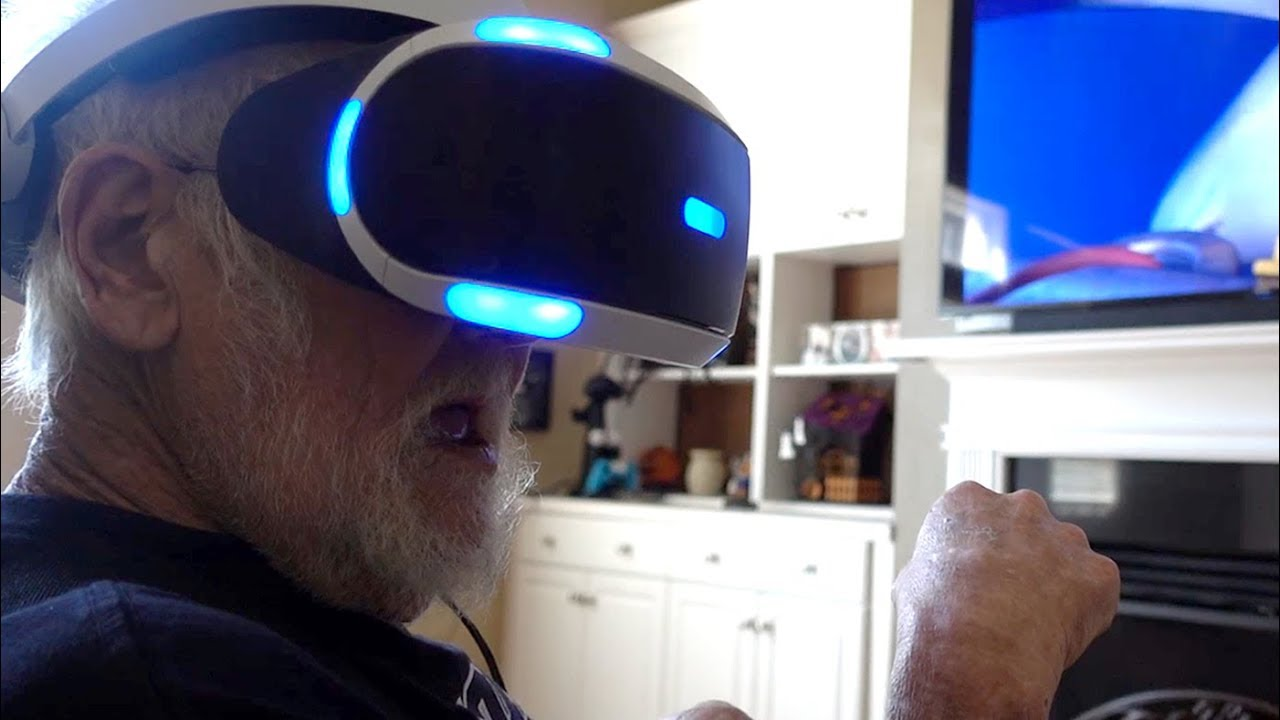 ANGRY GRANDPA VS PLAYSTATION VR!!