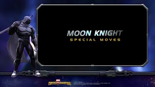 Moon Knight Special Moves | Marvel Contest of Champions