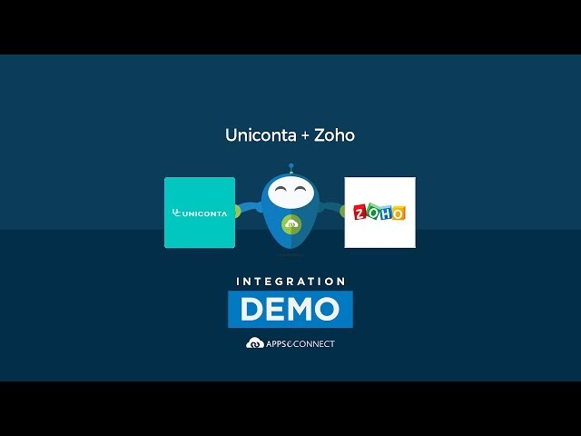 Integrate Uniconta ERP and Zoho CRM | APPSeCONNECT