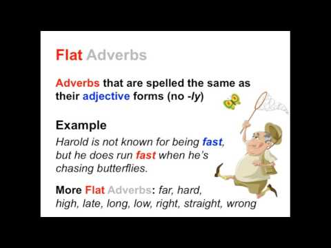 Adverbs & Adjectives Worksheets, Tests, & Lessons | Ereading ...