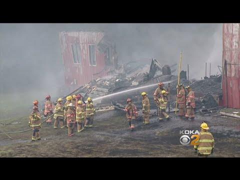 Fire Destroys Historic Rostraver Twp. Auction House