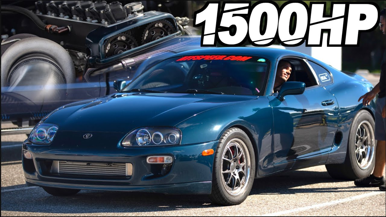 1500HP 2JZ Engine Teardown - Toyota Supra Street Build (AMAZING RESULTS After 150+ 50PSI Runs)