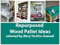 Recycled Wood Pallet Projects – DIY Pallet Furniture Ideas – Recycled Home Decor