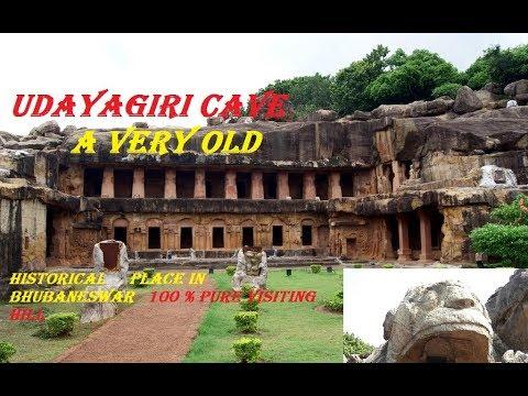 Khandagiri and udayagiri cave in bhubaneswar odisha\\ a must watch visiting historical place