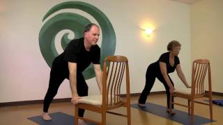 Chair Yoga Sun Salute - Standing Long Form with Steve Wolf E-RYT 500
