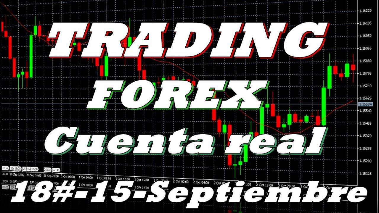 Trading con cuenta real-18# Operativa 15 Septiembre 2020