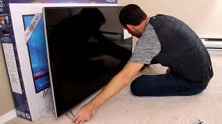 VIZIO M50 E1 TV Unboxing XLED Plus 4K UHD HDR SmartCast Home Theater Display