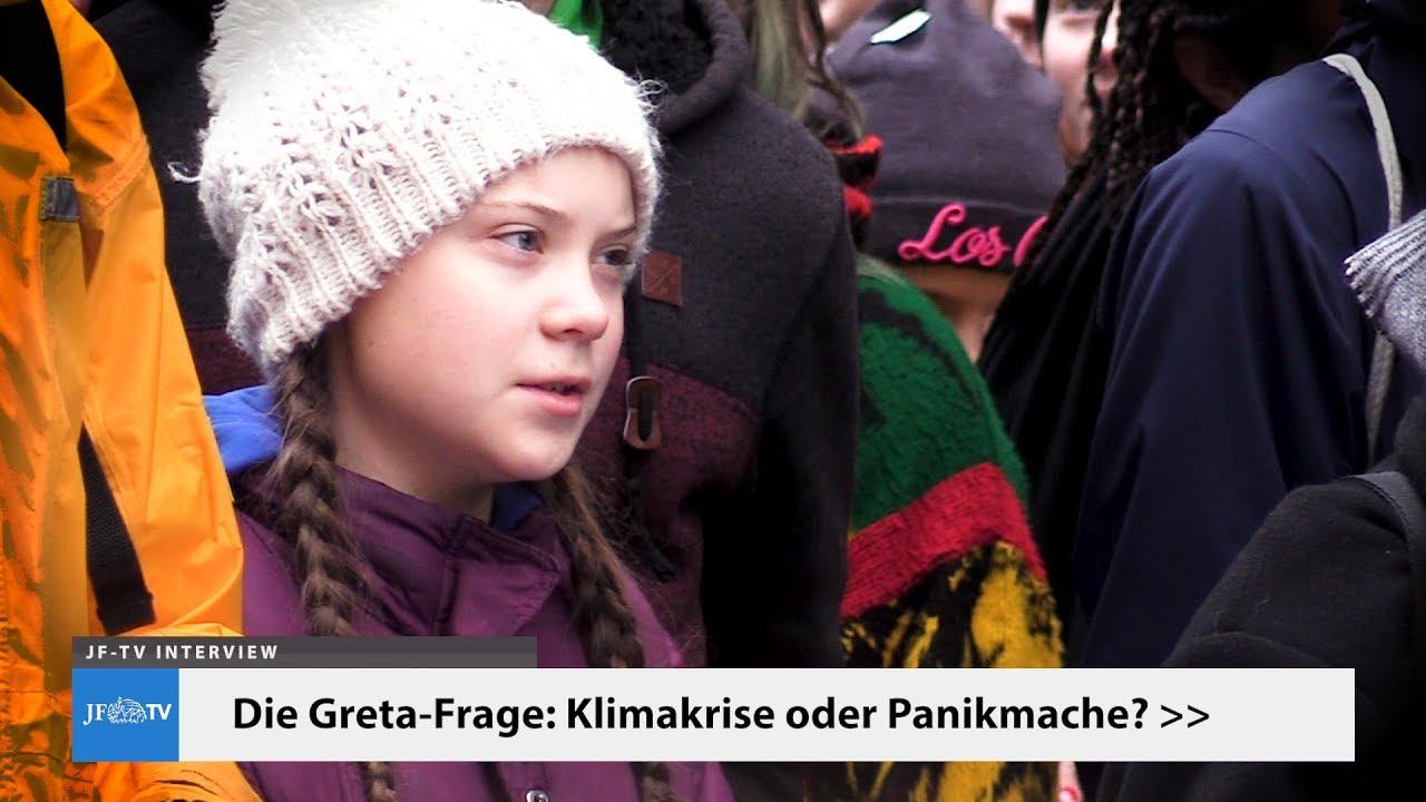 Die Greta-Frage: Klimakrise oder Panikmache? (JF-TV Interview mit Sebastian Lüning)
