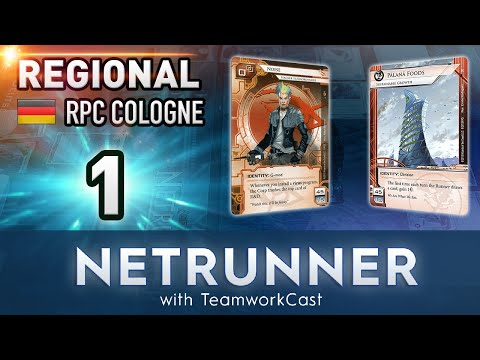 RPC Cologne Regional 2016 - #1 - Un-Robert My Heart - Netrunner With TeamworkCast