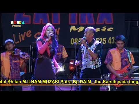 ASAM DIGUNUNG GARAM DILAUT   UMI FT PAK QOMAR // ZAFIRA LIVE RENGGENG 2018