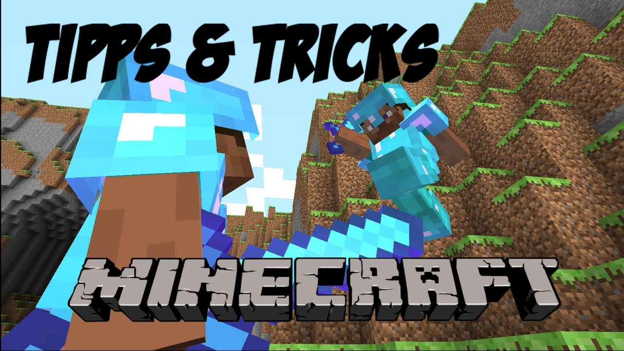 Minecraft Creative Tips Tricks: Tipps & Tricks- Minecraft PvP- #1 Schwertkampf