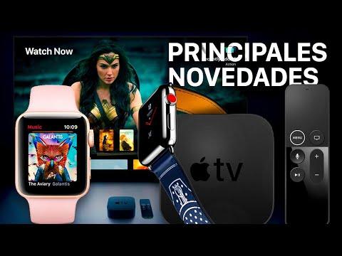 Apple Watch Series 3 y Apple TV 4K, estas son sus novedades