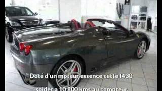 Park avenue présente une Ferrari f430 spider occasion à Toulouse