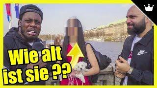 FREMDE am Alter erkennen vs Der Ömsen (Street Comedy) - JokaH Tululu