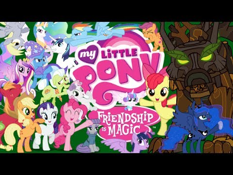 """""""TIMBER"""" (Sung in MLP Voices) Animation/PMV"""