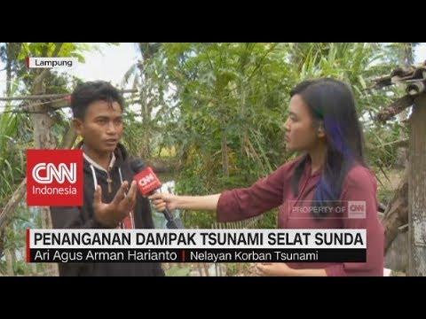 9 Hari Terdampar Pasca-Tsunami Selat Sunda, Satu Nelayan Selamat