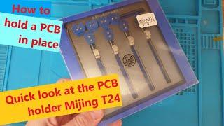 MiJing T22 T23 T24 T26 T Series Universal Multifunction PCB Board Holder Fixture video