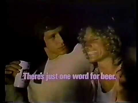 Richard Gilliland 1976 Schlitz Beer Commercial