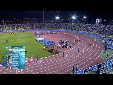 IAAF Diamond League Doha | Men's 400m