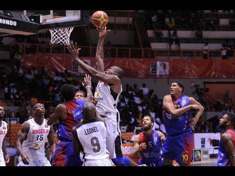 #AfroBasket - Day 1: Angola v Cape Verde (highlights)
