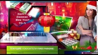 Обзор проекта Forexparadise