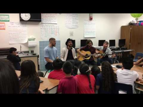 Imagine Dragons - It's Time - Live Acoustic at Elaine Wynn Elementary School
