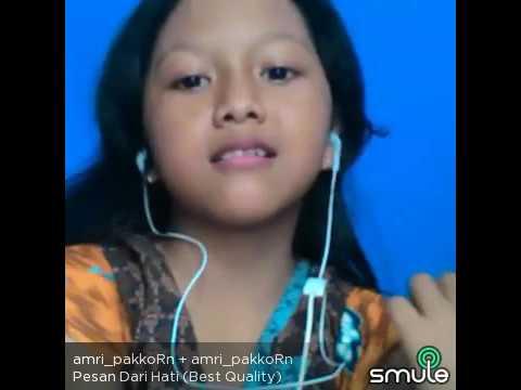 Pesan dari hati (amalia feat amri_pakoRn)