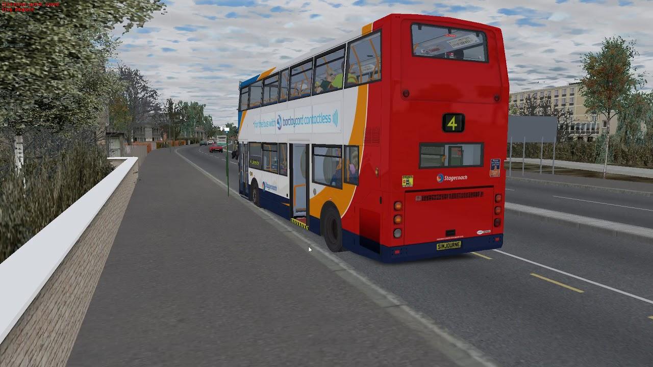 OMSI 2, UK MAP Scunthorpe - Route 4