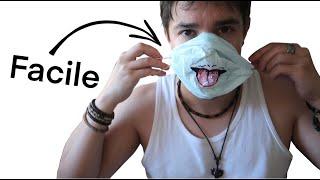 Comment faire un masque de protection maison (Facilement)