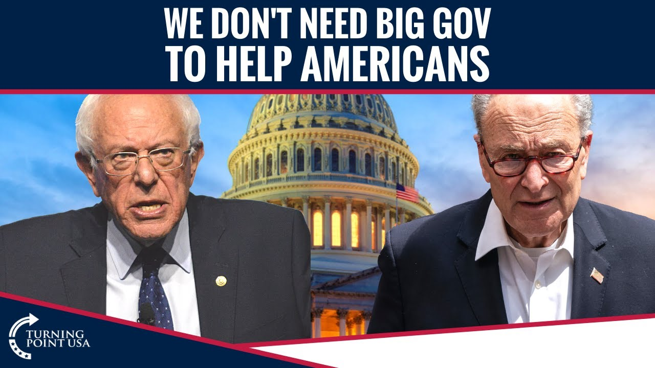 We Don't Need Big Gov To Help Americans