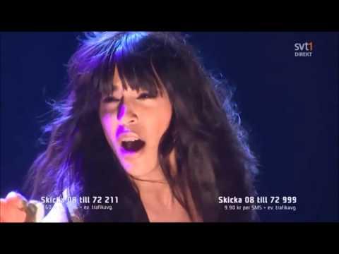 Loreen Euphoria Melodifestivalen Eurovision winner 2012 Sverige - Sweden Svíþjóð